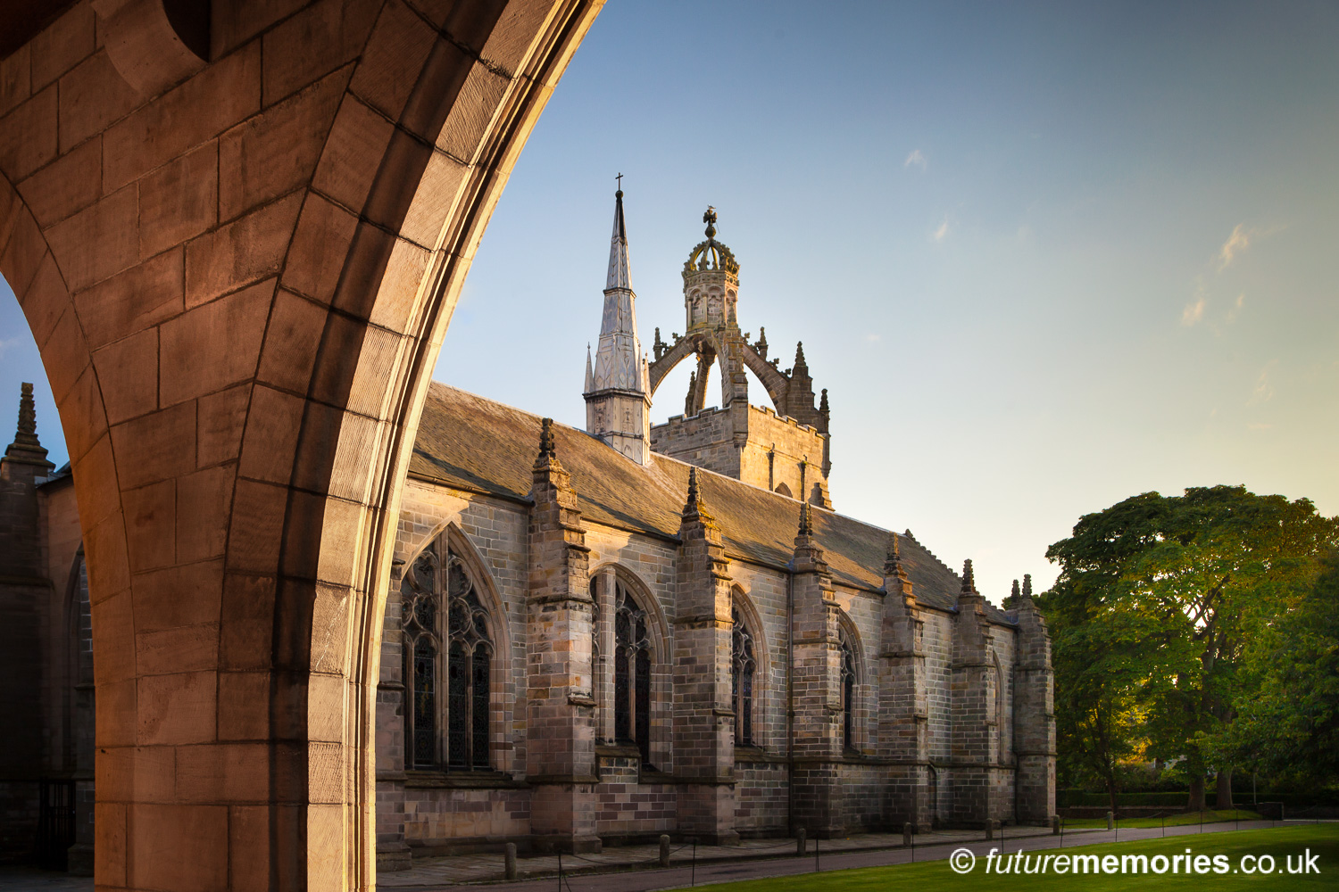 King's Chapel from the Elphinstone Cloisters, University of Aberdeen