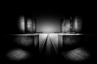 "This work, ""Salk Institute for Biological Studies, La Jolla"", is a derivative of ""Salk Institute"" by washingtonydc (www.flickr.com/photos/washingtonydc/), used under CC BY NC SA. ""Salk Institute for Biological Studies, La Jolla"" is licensed under CC BY NC SA by Derek Wasyliszyn."